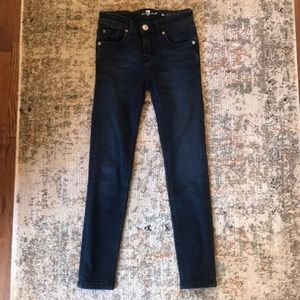 7 for Mankind Skinny Jeans- Size 7 EEUC
